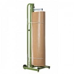 Portabobinas vertical para papel Kraft