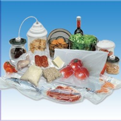 Bolsas de vacío para alimentos, 120 micras