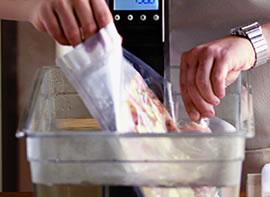 Máquinas de vacío para cocinar sous vide