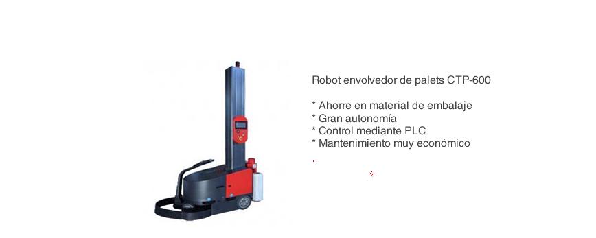 Robot envolvedor de palets CTP600