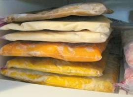 Máquinas de vacío para alimentos congelados
